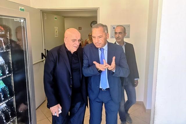 Mario Oliverio VISITA ARPACALi