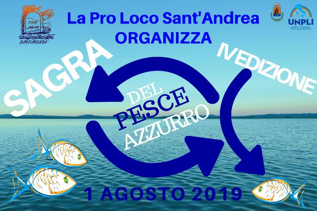 Volantino per Sagra del pesce azzurro 2019