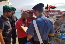 carabinieri Vibo abusivismo nelle spiagge-