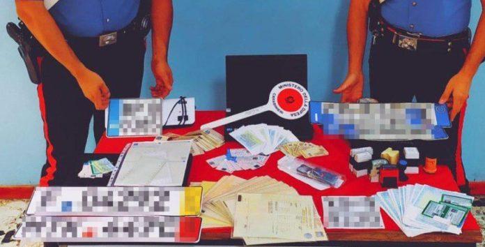 Petilia Policastro: materiale sequestrato