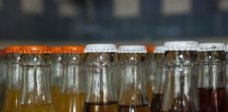 Bibite, bottiglie, bevande analcoliche