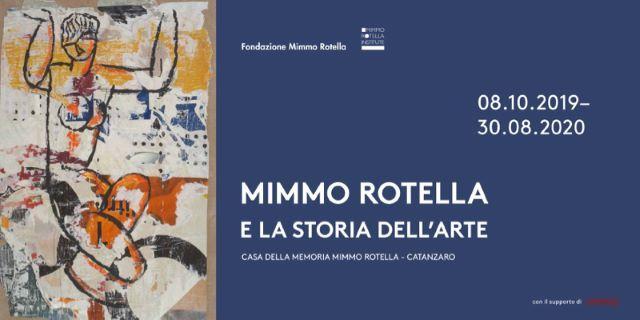 Mimmo Rotella e la Storia dell'Arte