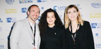 da dx Aldo Iuliano, Souad Arsane e Andrette Lo Conte