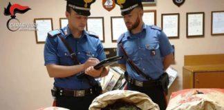 9 chili di marijuana 3 arresti a San Luca (RC)