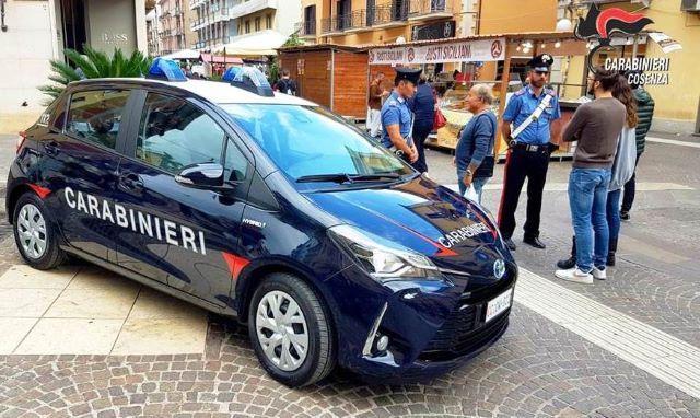 Auto Ibrida Carabinieri Cosenza