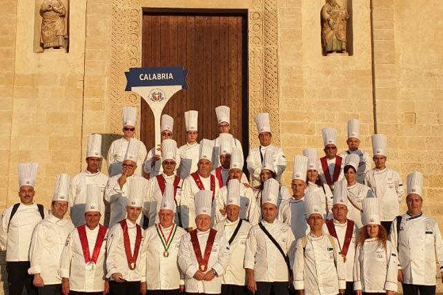 Delegazione chef calabresi a Matera