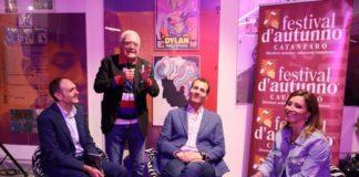 Gianfranco Valenti Ospite al Festival d'Autunno nella cornice del Museo del Rock