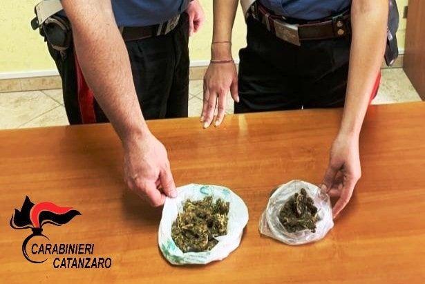 carabienieri catanzaro arrestato spacciatore