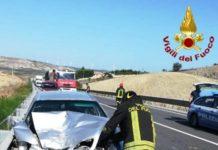 incidente stradale ss 106