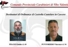 pisano Emilio cl.69 Puntoriero Vincenzo cl 54