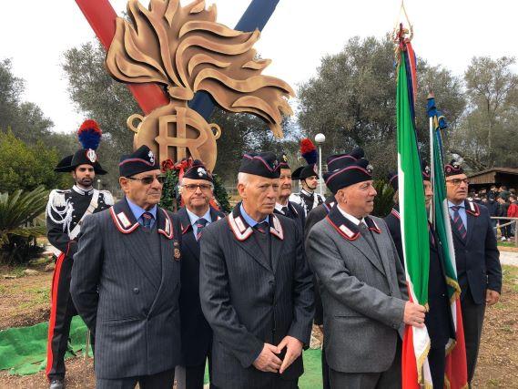 Brigadiere Miscia Cerimonia Carabinieri Vibo Valentia