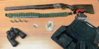 Detenevano fucile due arresti a Gerocarne