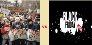 FridaysforFuture VS BlackFriday