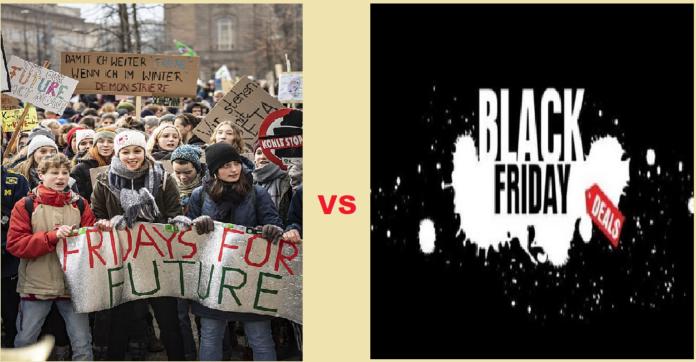 FridaysforFuture VS BlackFriday