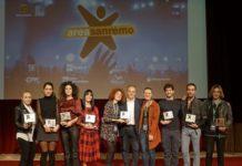 GLI OTTO FINALISTI DI AREA SANREMO premiazione Michele Affidato