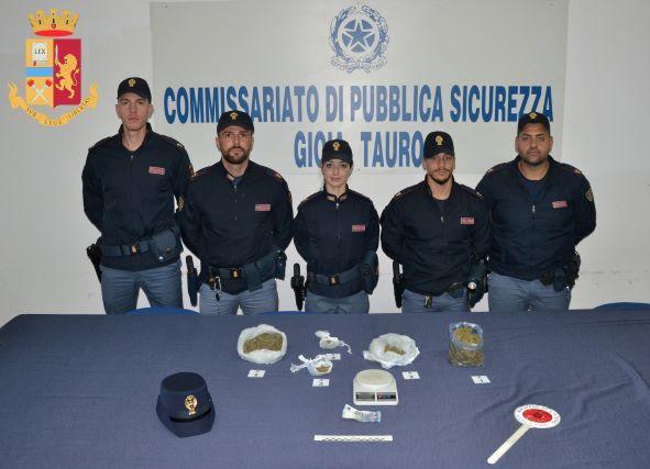 Gioia Tauro Polizia Reggio Calabria 3 arresti per spaccio-min