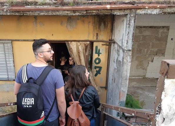 Studenti Unical nelle Vele di Scampia, maggio 2019