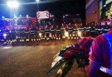 Vigili del Fuoco omaggio ai vigili morti