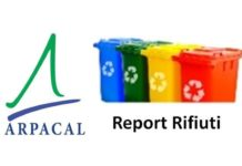 arpacal report rifiuti