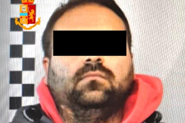 arrestato cittadino rumeno