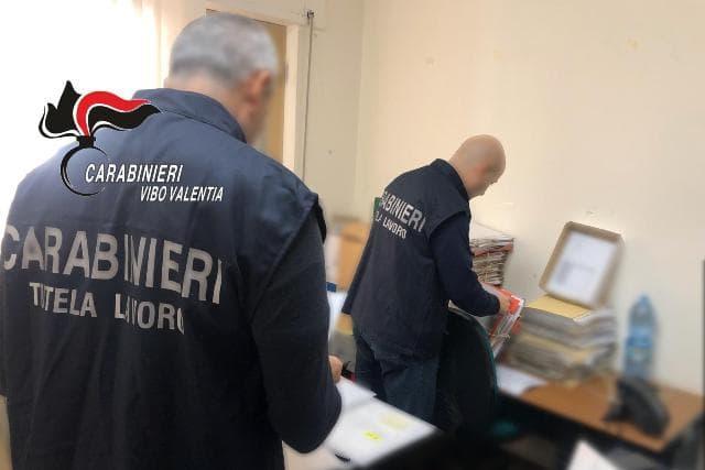 carabinieri vibo tutela lavoro