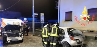 incidente stradale loc. Fortuna-