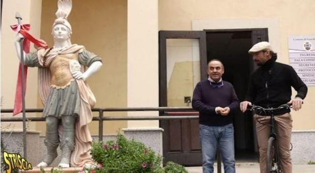 Guardavalle Statua donata dai Gallace