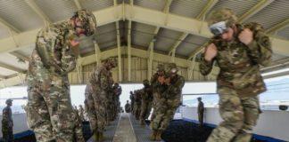 Vicenza, militari USA Airborne Brigade
