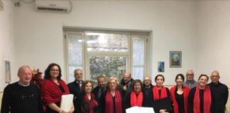 """Diocesi Lamezia Terme - Coro polifonico avv. Arcuri alla Casa di riposo comunale """"Bosco S. Antonio"""""""