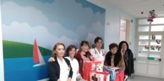 Doni reparto oncologia pediatrica Pugliese (CZ)