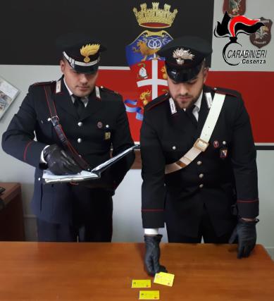 Reddito Cittadinanza Carabinieri Cosenza