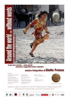 Locandina Mostra Giulia Fresca Mileto 2019