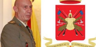 Nuovo comandante colonnello Frisone