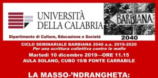 Unical Laboratorio Antimafia