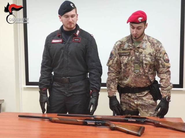 arrestato 23enne armi clandestine