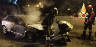 incendio Lamezia Terme