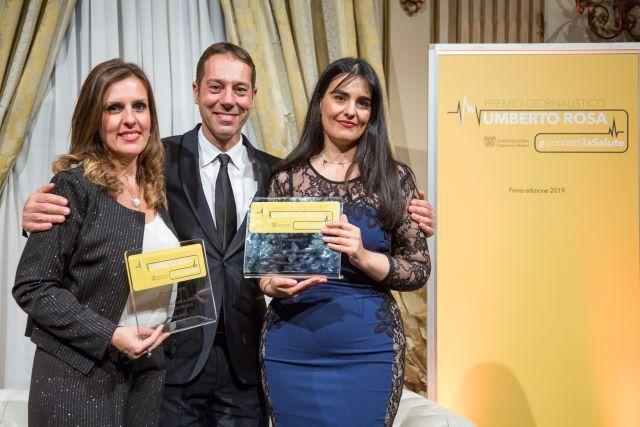 vincitrici premio giornalistico Umberto Rosa