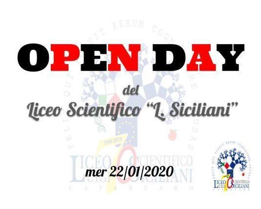OpenDay Liceo Siciliani