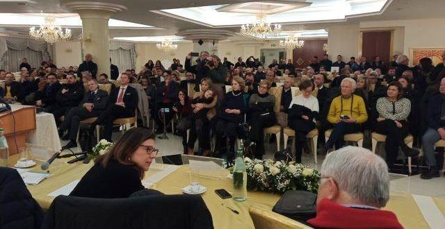 Paola De Micheli e Pippo Callipo a Corgliano Rossano