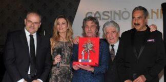 """Premi orafo Michele Affidato a Fausto Leali """"Numeri Uno Città di Sanremo"""""""