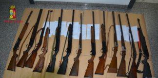 """operazione """"Eyphemos"""" altri tre arresti in flagranza per detenzione armi clandestine"""