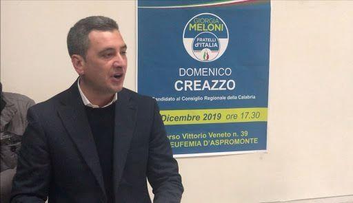 Domenico Creazzo, arrestato neo consigliere regionale Calabria FdI