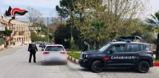 Carabinieri Vibo controlli