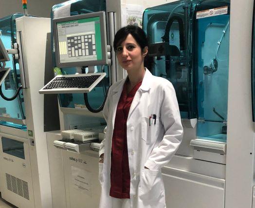 Dottoressa Leone Serena reparto Microbiologia e Virologia Ospedale Pugliese Ciaccio di Catanzaro-min_edited-min