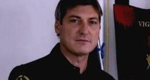 Fabio Cuzzocrea Comandante Vigili del Fuoco Catanzaro