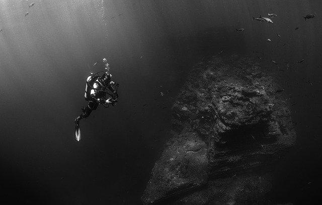 Immersioni, pesca subacquea (archivio)
