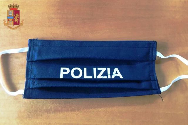 Mascherina polizia