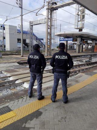 Polfer Villa San Giovanni, arrestato 58enne bloccato sul treno