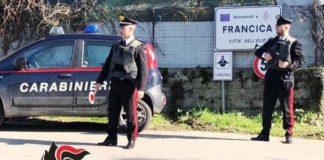 auto incendiata a Francica