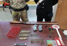 carabinieri Reggio Calabria, Taurianova possesso armi da guerra